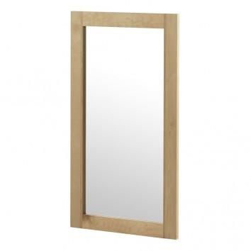 Espejo de pared estilo nórdico 50x90cm en abedul