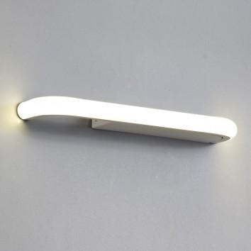 Lámpara aplique de pared LED 3000K con repisa y USB