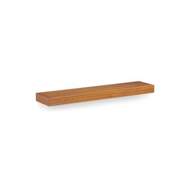 Estantería de pared madera mindi natural claro 90x20x6cm