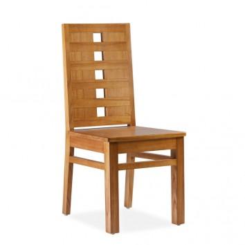 Silla de comedor madera maciza de mindi 45x55x100h