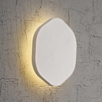 Aplique de pared o techo hexagonal LED 19cm blanco