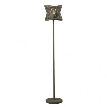Lámpara de pie exterior 178cm serie Polinesia