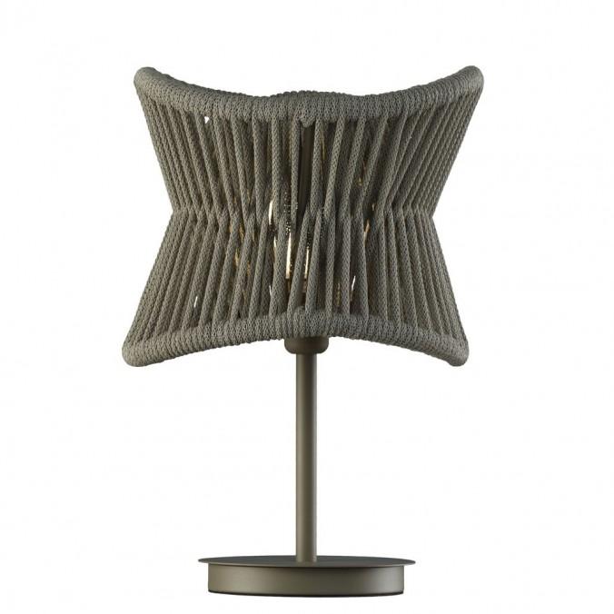 Lámpara de mesa 50cm serie Polinesia IP44
