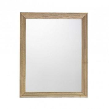 Espejo de pared marco madera de mindi  80x100h