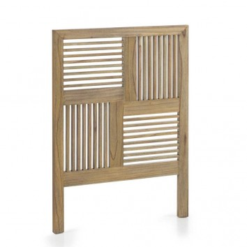Cabezal madera mindi estilo colonial 100x135cm
