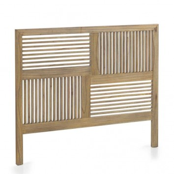 Cabezal madera mindi estilo colonial 165x135cm
