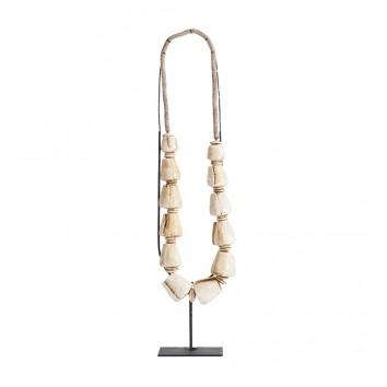 Figura de collar artesanal estilo étnico - 24x12x62h