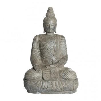 ESCULTURA BUDHA - 67x60x110h