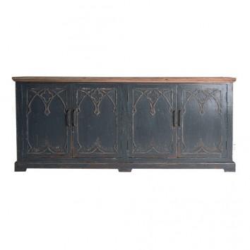 Buffet estilo provenzal madera de olmo - 198x50x85h