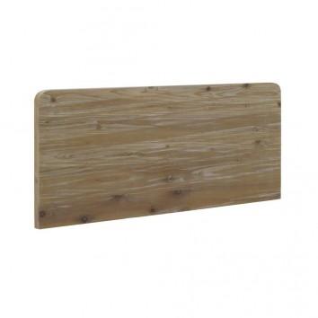 Cabezal madera de abeto estilo rústico vintage  145x60cm