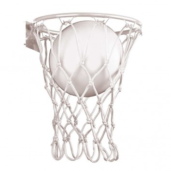 Aplique de pared blanco serie Basketball