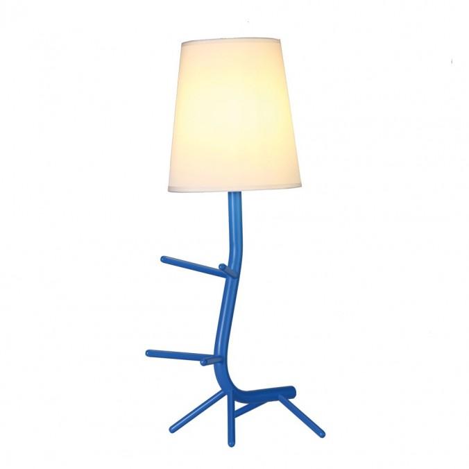 Lámpara de mesa diseño serie Centipede azul