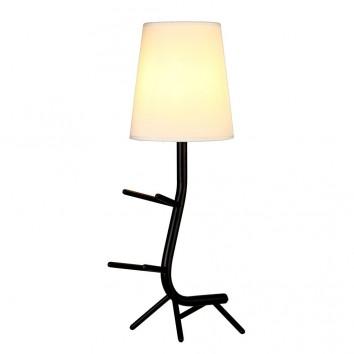Lámpara de mesa diseño serie Centipede negro