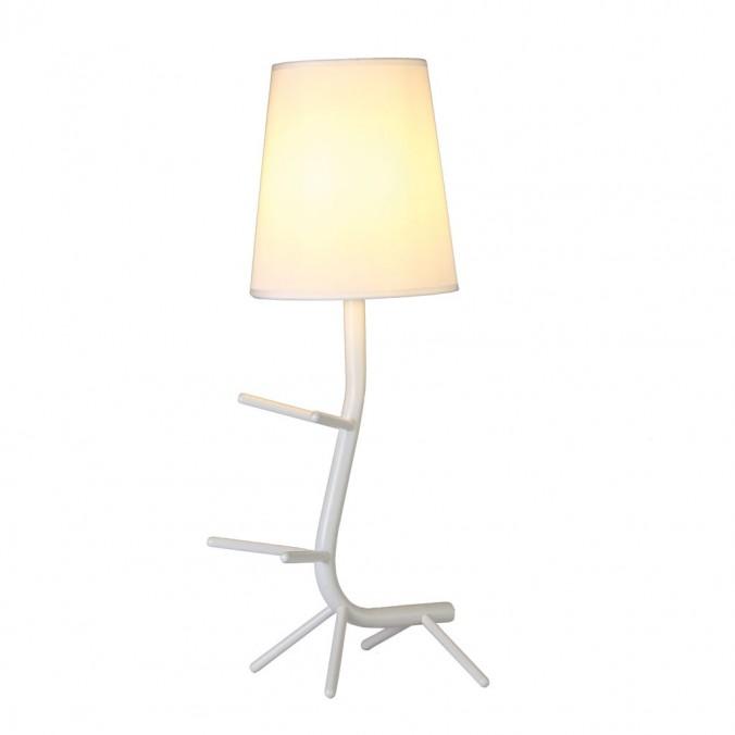 Lámpara de mesa diseño serie Centipede blanco