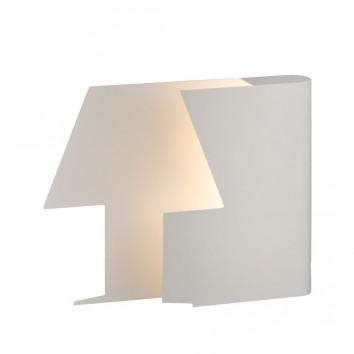 Lámpara de mesa LED diseño Book 23cm