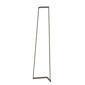 Lámpara de pie Minimal tono savia con luz LED