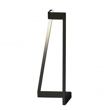 Lámpara de mesa Minimal tono dnegro con luz LED