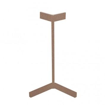 Lámpara de mesa Vector tono savia con luz LED