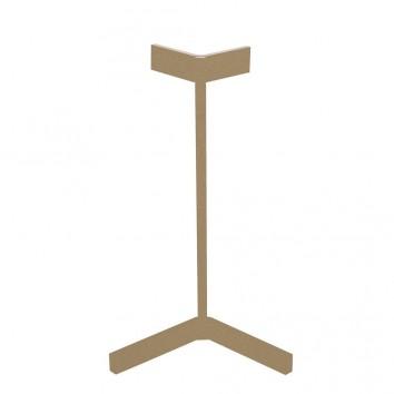 Lámpara de mesa Vector tono dorado con luz LED