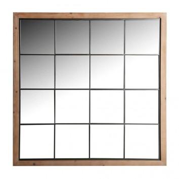 ESPEJO TIRKANE - 128x4x128h