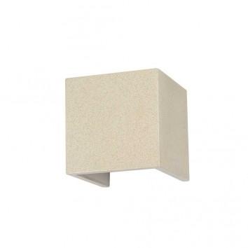 Aplique de pared exterior LED 12W textura blanco