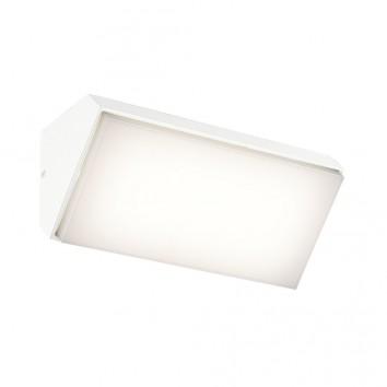 Aplique de pared horizontal LED serie Solden blanco