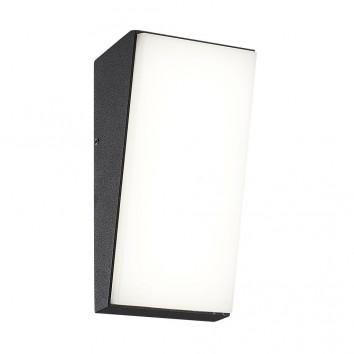 Aplique de pared vertical LED serie Solden gris