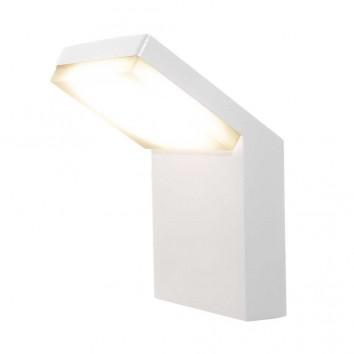 Aplique de pared LED serie Alpine IP65 blanco