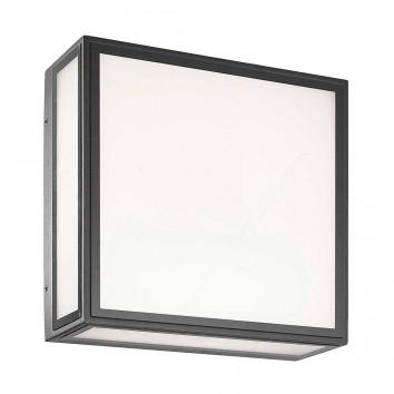 Plafón de exterior LED pared o techo serie CBachelor gris