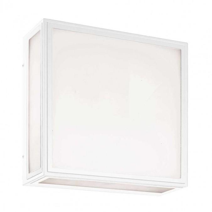 Plafón de exterior LED pared o techo serie Bachelor blanco