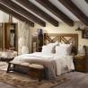Armario con dos cajones y puerta estilo colonial mindi 65x50x200h