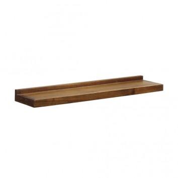 Estanteria de pared madera mindi 115x25cm