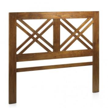 Cabezal de estilo colonial madera mindi 165x140h