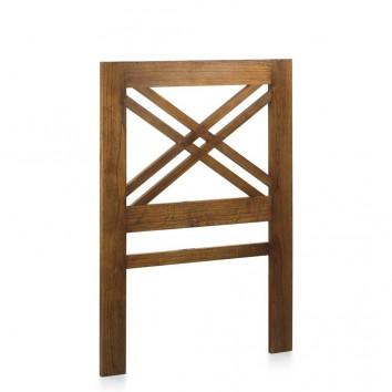 Cabezal de estilo colonial madera mindi 100x140h