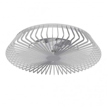 Ventilador de techo con luz LED Himalaya Silver
