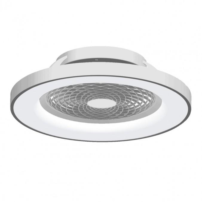 Ventilador de techo con luz LED Tibet Silver