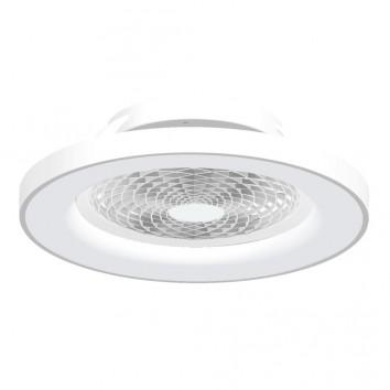 Ventilador de techo con luz LED Tibet White