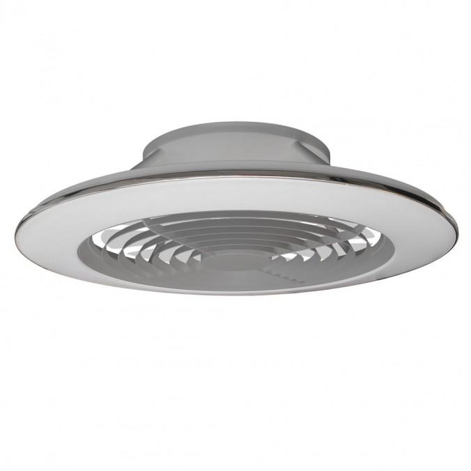 Ventilador de techo con LED Alisio XL Silver
