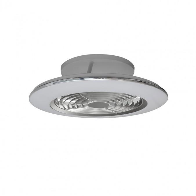 Ventilador de techo con LED Alisio mini Silver