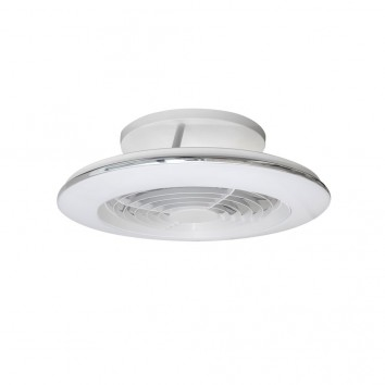 Ventilador de techo con LED Alisio mini White
