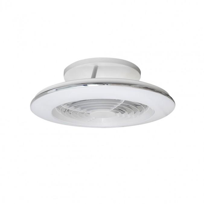 Ventilador de techo con LED Alisio mini White