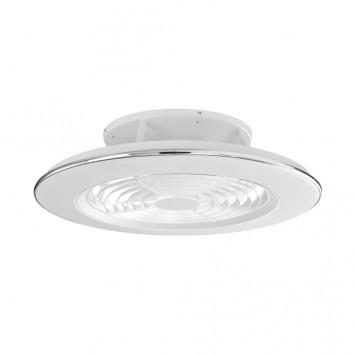 Ventilador de techo con LED Alisio White