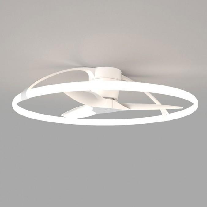 Ventilador de techo Nepal 104cm con luz led - blanco