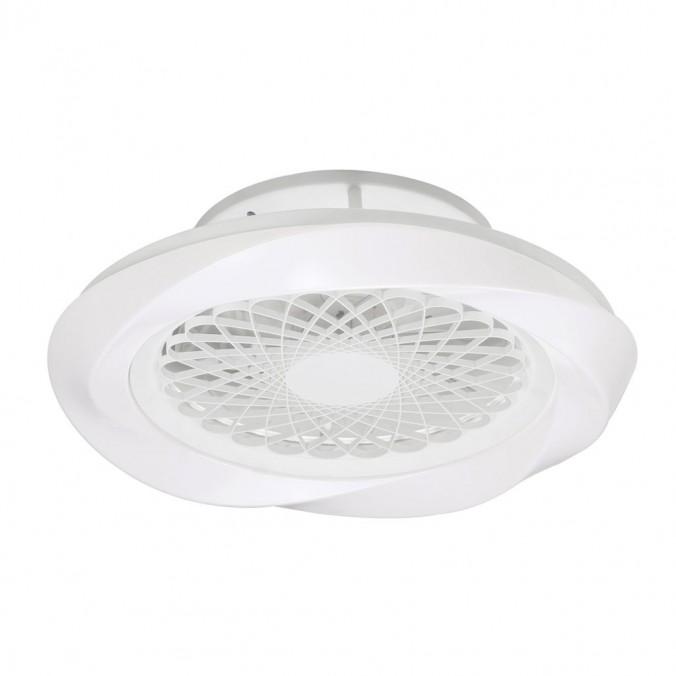 Ventilador de techo 62cm con LED Boreal White