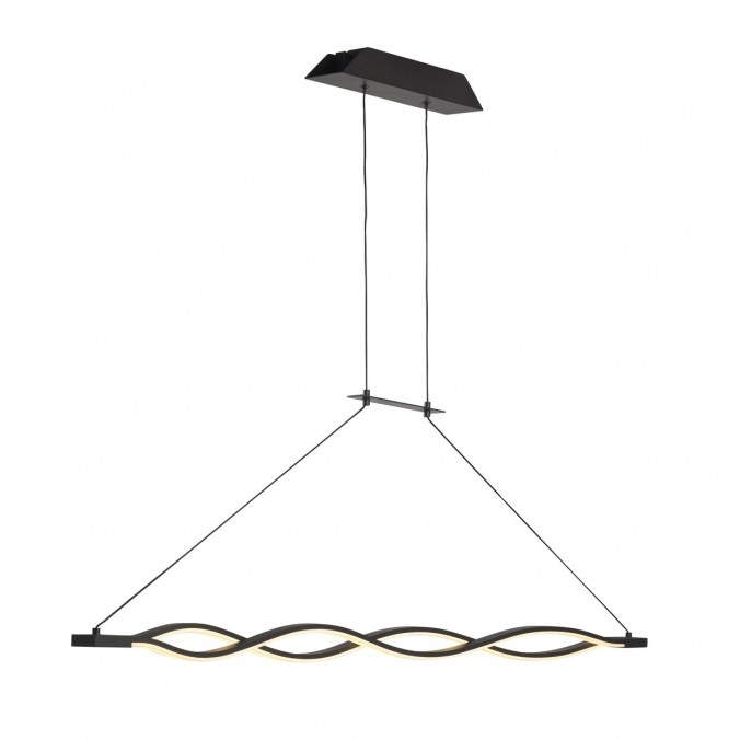 Lámpara techo LED SAHARA 36W forja