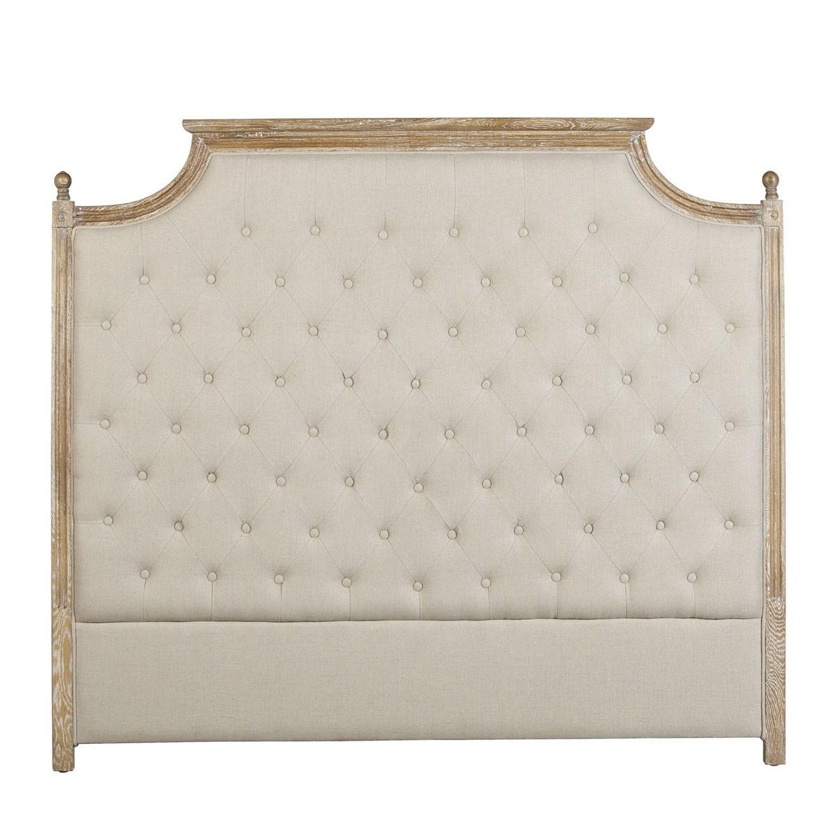 Cabezal 160cm tapizado con marco de madera - Erizho