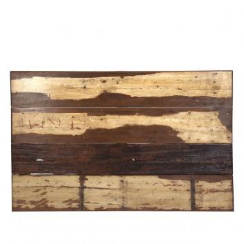 Cabezal 160cm de madera Mahogani