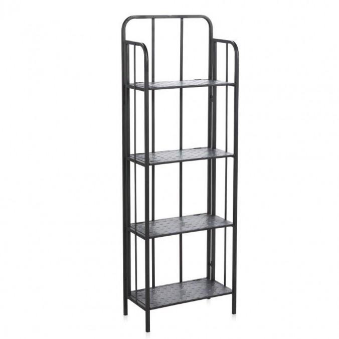 Estanteria estilo industrial 50x149cm hierro erizho for Libreria estilo industrial