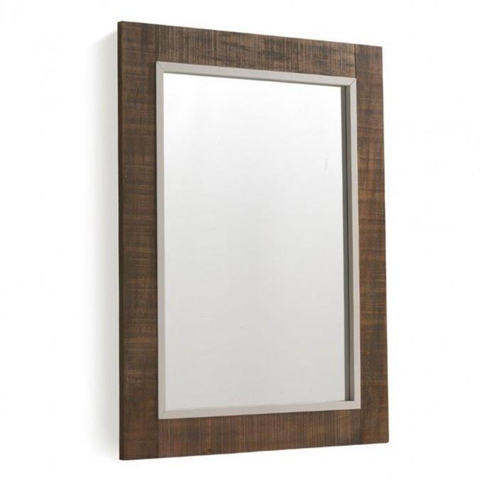 Espejo 60x80cm madera abeto y mdf