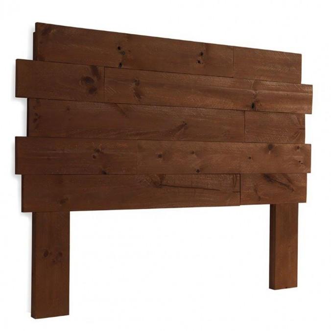 Cabezal  irregular 110-185cm madera de abeto y mdf